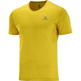 Salomon Sense T-shirt Homme, lemon cur/arrowwood